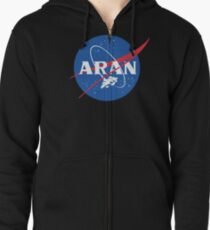 Metroid Space Program: Holding Orbit Zipped Hoodie