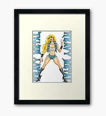 Heavy Metal Framed Print