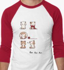 Soft Kitty Baseballshirt mit 3/4-Arm