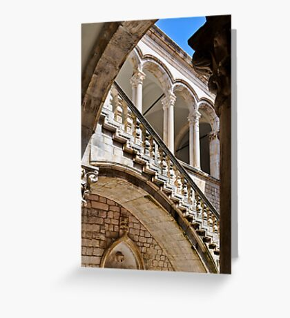 RECTOR'S PALACE DUBROVNIK CROATIA Greeting Card