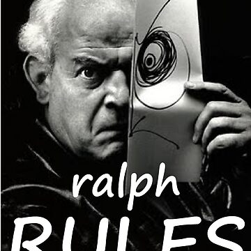 Ralph RULES -Steadman the Champ by SUPERSCREAMERS