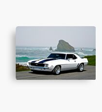 1969 Camaro Super Sport Canvas Print