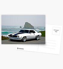 1969 Camaro Super Sport Postcards
