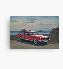 1965 Shelby Mustang G.T.350 Canvas Print