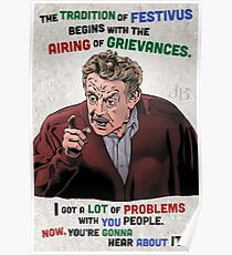 The Tradition of Festivus Begins with the Airing of Grievances... Poster