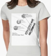 Star Wars Lightsaber Schematics T-Shirt
