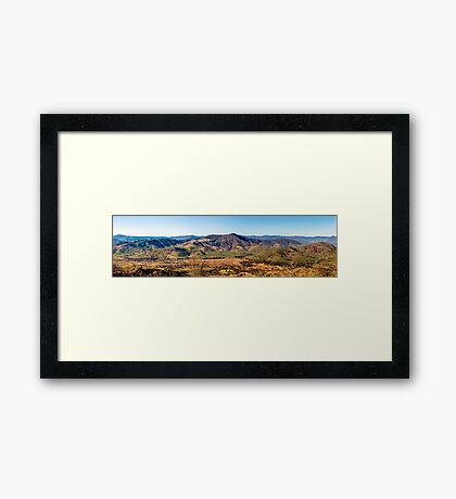 The Valley of Tallangatta Framed Print