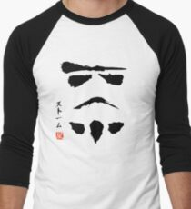 Star Wars Droid Minimalistic Painting Men's Baseball ¾ T-Shirt