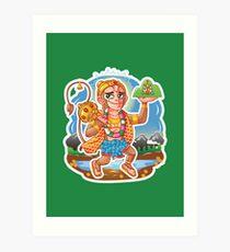 Hanuman - Hindu God - Bunch of Bhagwans Art Print