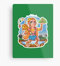 Hanuman - Hindu God - Bunch of Bhagwans Metal Print