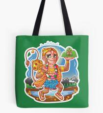 Hanuman - Hindu God - Bunch of Bhagwans Tote Bag