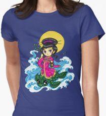 Kwan Yin Womens Fitted T-Shirt