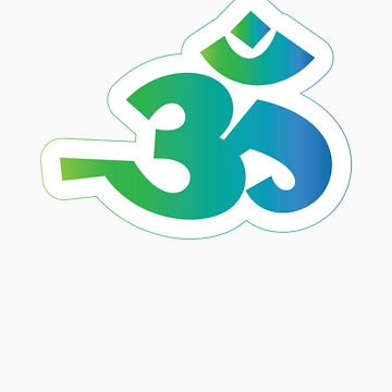 Om / Aum - Sanskrit Hindu Symbol - G2B by hinducloud