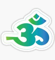 Om / Aum - Sanskrit Hindu Symbol - G2B Sticker