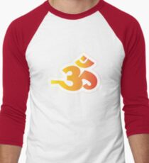 Om / Aum - Sanskrit Hindu Symbol - Y2R Men's Baseball ¾ T-Shirt