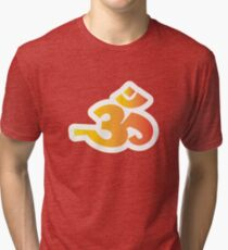 Om / Aum - Sanskrit Hindu Symbol - Y2R Tri-blend T-Shirt
