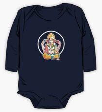 Lord Ganesh - Hindu God - Geometric Avatar One Piece - Long Sleeve