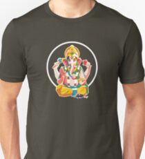 Lord Ganesh - Hindu God - Geometric Avatar Unisex T-Shirt