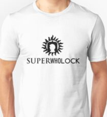 Superwholock Logo (w/ text) T-Shirt