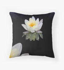 Lotus at Dawn Throw Pillow