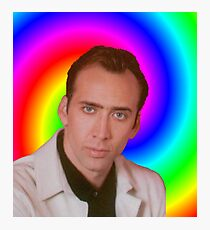 Nicolas Cage's Mind Photographic Print