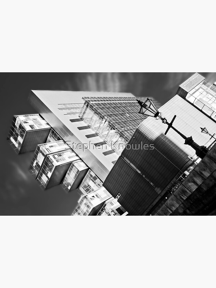 Manchester's civil justice law courts. (B&W) by stephenknowles