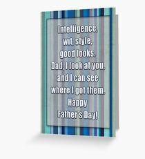 Happy Father's Day! Greeting Card