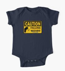 Caution: Falling Wizard One Piece - Short Sleeve