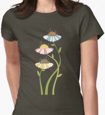 Flower pincushions sewing seamstress t-shirt Womens Fitted T-Shirt