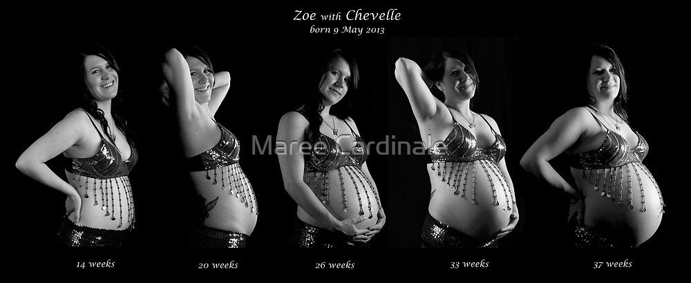Zoe with Chevelle by Maree Cardinale