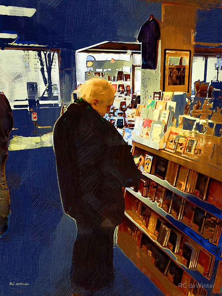 Bookstore Dreamer by RC deWinter