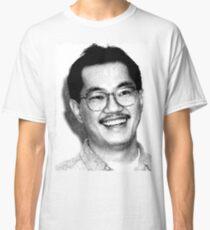AKIRA TORIYAMA Portrait Design Classic T-Shirt