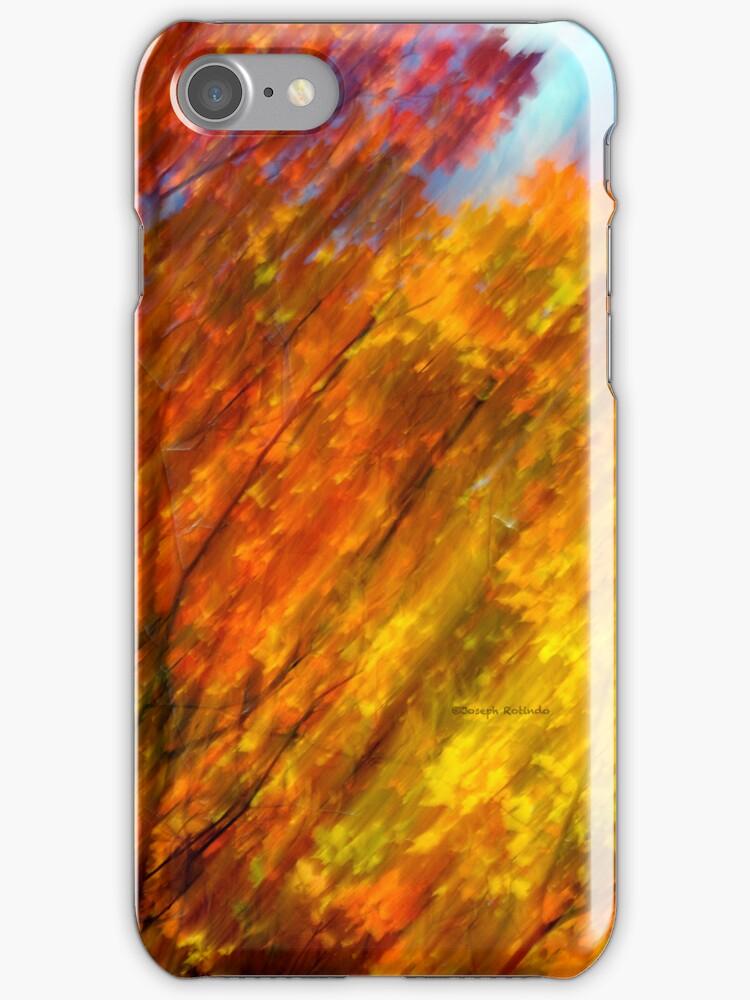 iPhone / iPod Case - Fall burning 2012 by Joseph Rotindo
