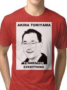 Akira Toriyama -Praise Design Tri-blend T-Shirt