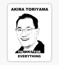 Akira Toriyama -Praise Design Sticker