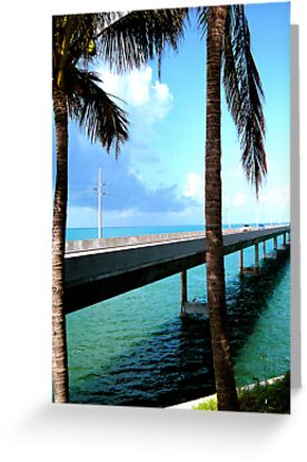 Heading Toward Key West (Greeting Card) by Thomas Barker-Detwiler
