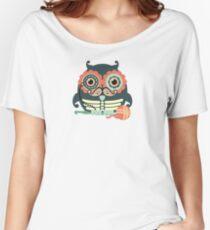 crochet hook owl paisley mustache steampunk skeleton Women's Relaxed Fit T-Shirt