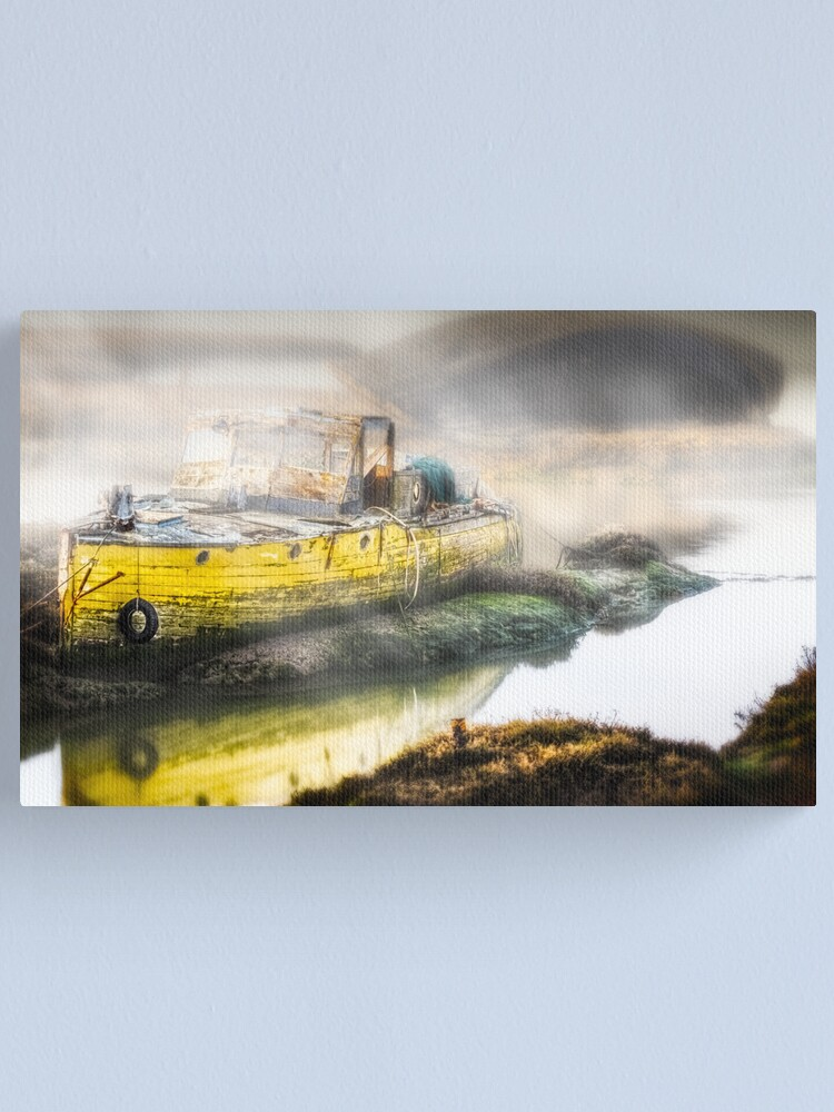 Alternate view of Not going anywhere  Canvas Print