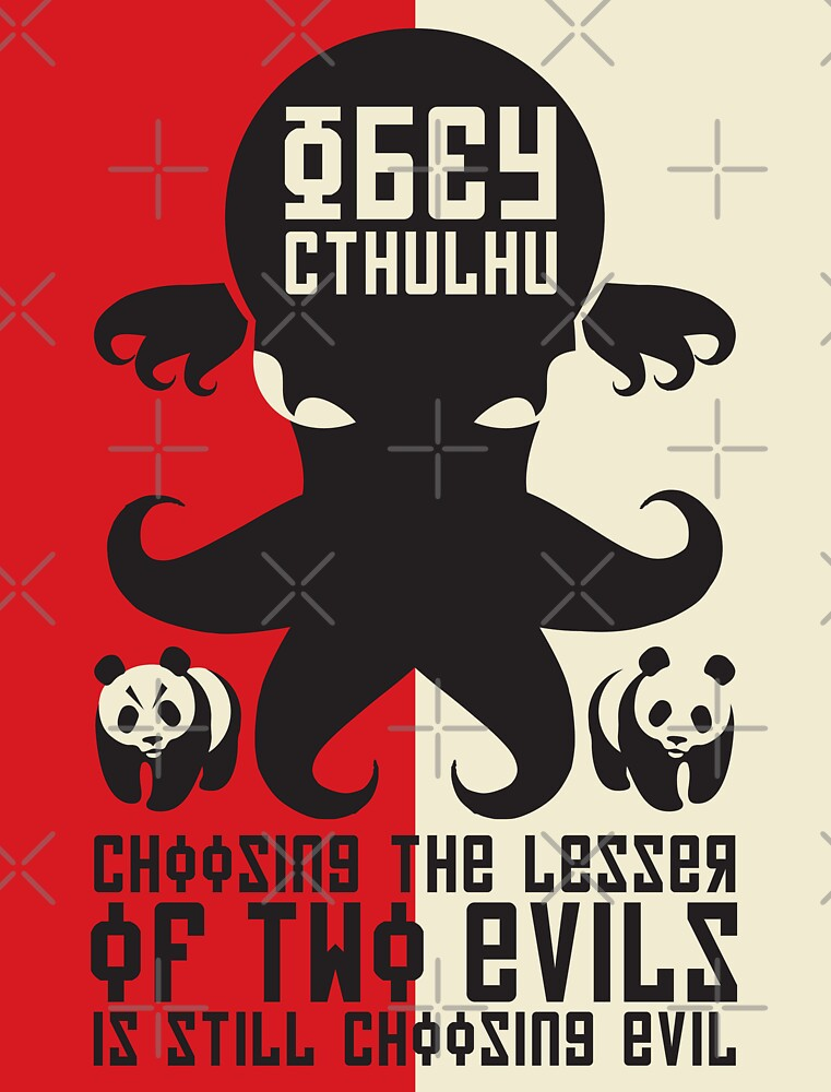 Choosing The Lesser Of Two Evils Is Still Choosing Evil by RetroReview