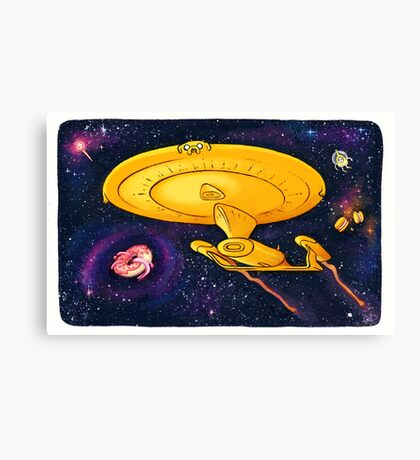 Adventure Trek / Star Time Canvas Print