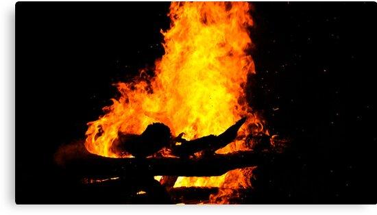Bonfire by jdrephotography