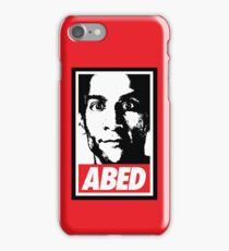 OBEY ABED, COOL? iPhone Case/Skin