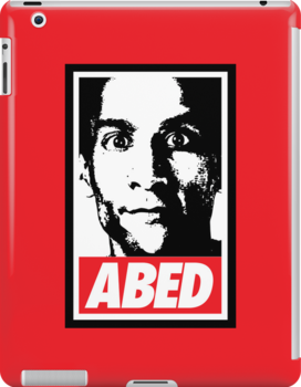 OBEY ABED, COOL? by huckblade