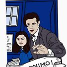 the doctor and clara by Amy101
