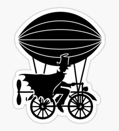 Airship Cyclist VRS2 Sticker
