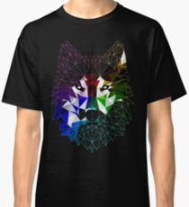 Geometric Wolf Classic T-Shirt