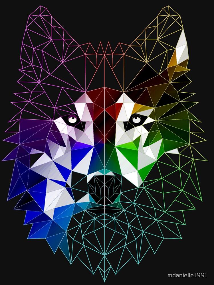 Geometrischer Wolf von mdanielle1991