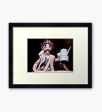 Puppetry Adjustment Framed Print