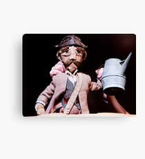 Puppetry Adjustment Canvas Print