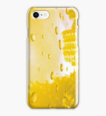 City After Rain (yellow) iPhone Case/Skin